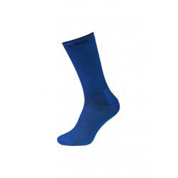 Odlo Socks Long Natural+ Ceramiwool Light Chaussettes running - Bleu