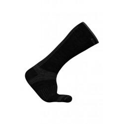 Odlo Socks Long Natural+ Ceramiwool Light Chaussettes running - Noir