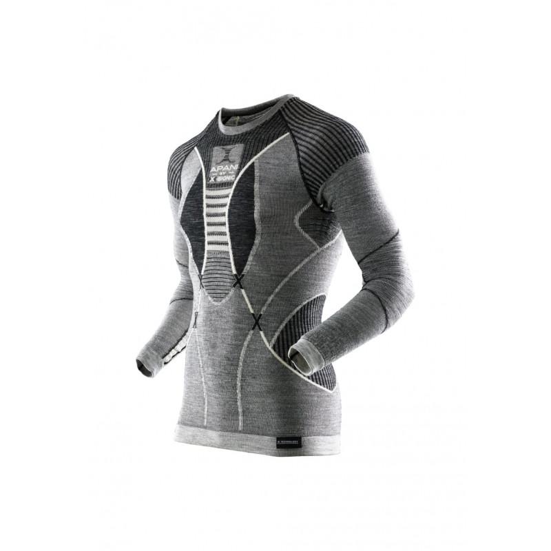 X-Bionic Apani Merino Fastflow Shirt Long Sleeve - Sous-vêtements sport  pour Homme 0c300187a3a