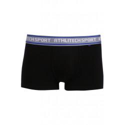Athlitech Cross Fun Boxer - Sous-vêtements sport pour Homme - Noir
