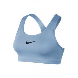 Nike Swoosh Bra - Brassières de sport pour Femme - Bleu
