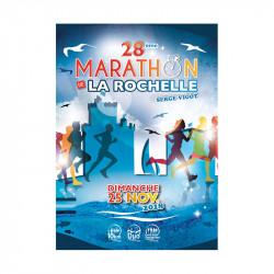 Marathon de la Rochelle - Serge Vigot - affiche édition 2018