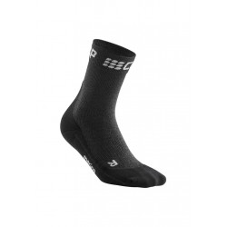 CEP Winter Short Socks - Chaussettes running pour Femme - Noir