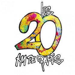 Les 20 km de Paris - édition 2018 - logo