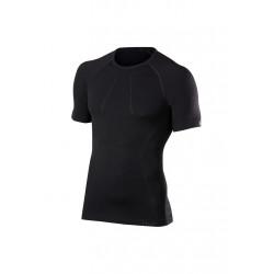 Falke Wool-tech Short Sleeve Comfort - Sous-vêtements sport pour Homme - Noir
