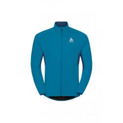 Odlo Jacket Aeolus Element Warm - Vestes course pour Homme - Bleu