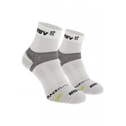 Inov-8 Race Elite Sock Mid Chaussettes running - Blanc