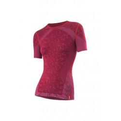 Löffler Shirt Transtex Warm Seamless KA - Sous-vêtements sport pour Femme - Rouge