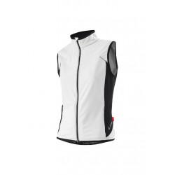 Löffler Weste 1Beats2 - Vestes course pour Femme - Blanc