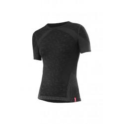Löffler Shirt Transtex Warm Seamless KA - Sous-vêtements sport pour Femme - Noir