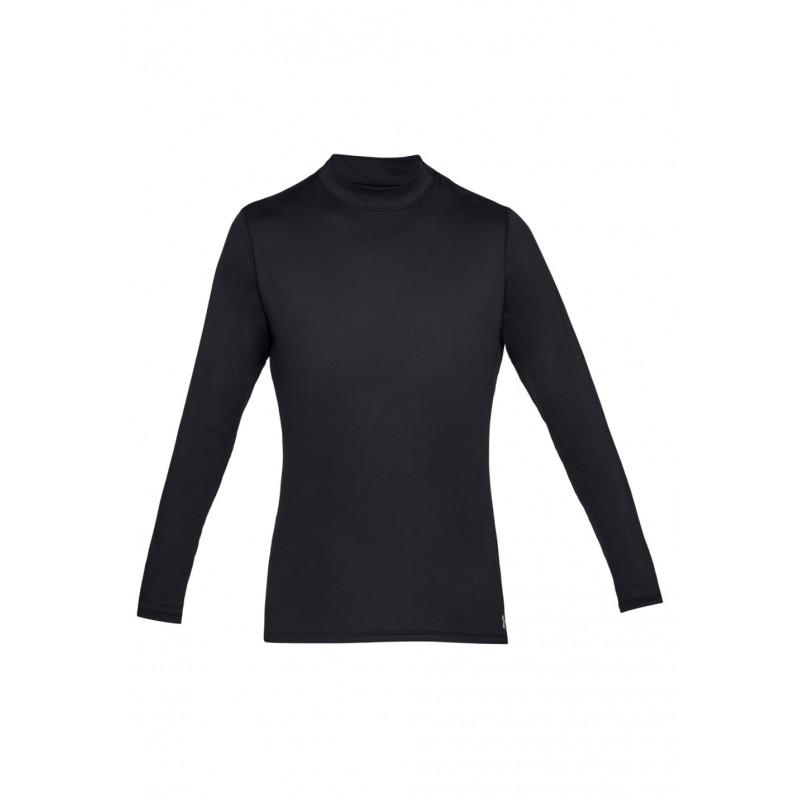 Under Armour Coldgear Armour Mock Fitted - Sous-vêtements sport pour Homme  - Noir e16f37b82eb