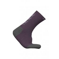 Odlo Socks Long Natural+ Warm Chaussettes running - Noir