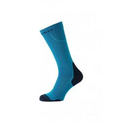 Odlo Socks Long Ceramiwarm Chaussettes running - Bleu