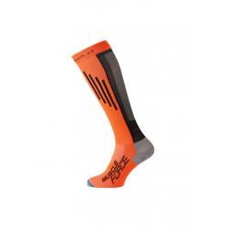 Odlo Socks Extra Long Muscle Force Light Chaussettes running - Blanc