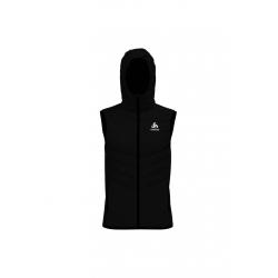 Odlo Vest Irbis X-Warm - Vestes course pour Homme - Noir