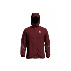 Odlo Jacket Zeroweight Rain Warm - Vestes course pour Homme - Rouge