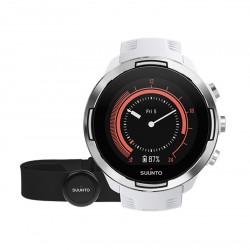 Montre GPS Suunto 9 G1 BARO Blanche + Ceinture Smart Sensor