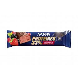 Apurna Barre Protéinée - Moelleuse Fruits Rouges Diététique Protéines / récupération