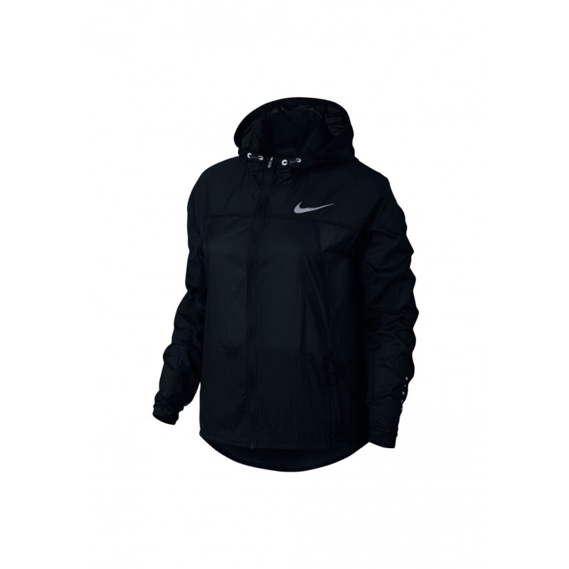 Nike Impossibly Light Running Jacket-Hooded - Vestes course pour Femme -  Noir 3285776b82f