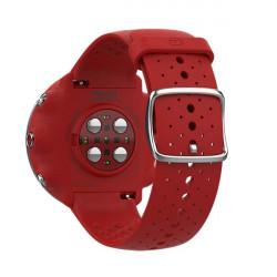 ... avis test Polar Vantage M - montre cardio GPS - Rouge vue du capteur  optique 04765759612