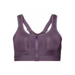 Odlo Sports Bra Double High E - Brassières de sport pour Femme - Violet