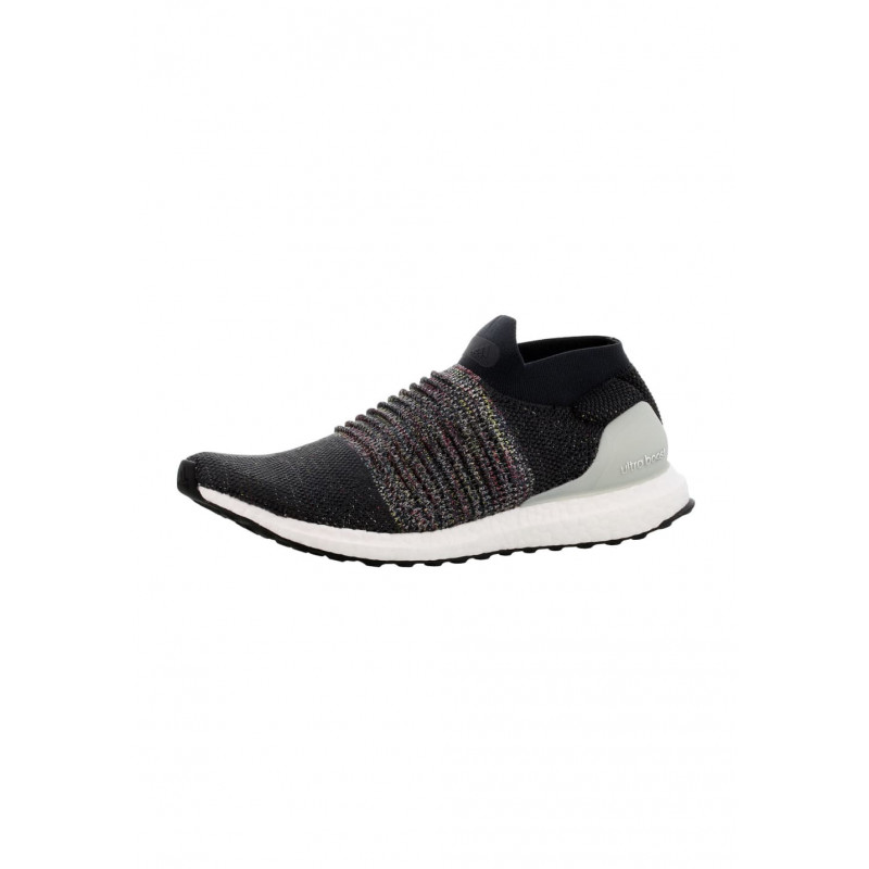 best website caeb3 aa4b1 adidas Ultra Boost Laceless - Chaussures running pour Homme - Noir