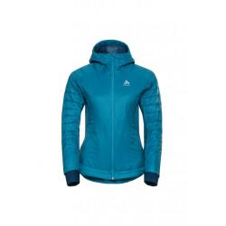 Odlo Jacket Insulated Flow Cocoon Zw - Vestes course pour Femme