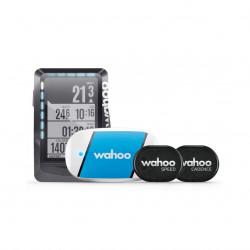 Wahoo Pack Compteur GPS ELEMNT (Ceinture Cardio TickR + Capteurs RPM Vitesse/Cadence)