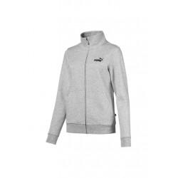 Puma Essential Track Jacket FL - Vestes course pour Femme - Gris 97202f4289ca
