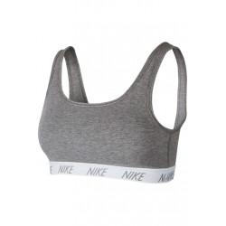 Nike Classic Soft Bra - Brassières de sport pour Femme - Gris