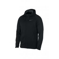 Nike Therma Sphere Hooded Full-zip Jacket - Vestes course pour Homme - Noir