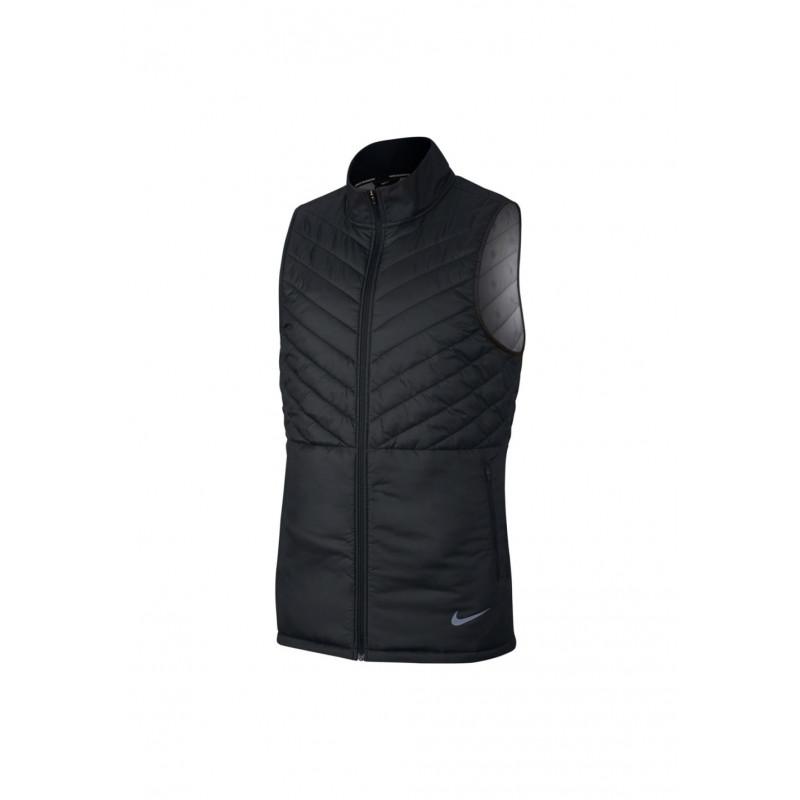 Nike Aerolayer Running Vest - Vestes course pour Homme - Noir f691f5393be1