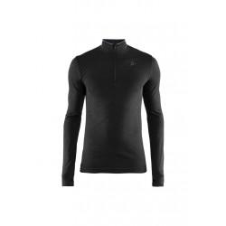 Craft Fuseknit Comfort Zip - Sous-vêtements sport pour Homme - Noir