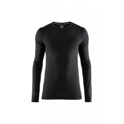 Craft Fuseknit Comfort Rn Long Sleeve - Sous-vêtements sport pour Homme - Noir