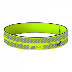 ceinture FlipBelt Reflective Neon Yellow : Test et avis de coureurs sur cette ceinture