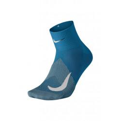 Nike Elite Lightweight Quarter Chaussettes running - Bleu
