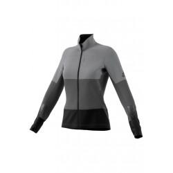 adidas Xperior Jacket - Vestes course pour Femme - Gris 73270534e7d8