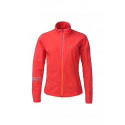 Salomon Lightning Warm Shell Jacket - Vestes course pour Femme - Rouge