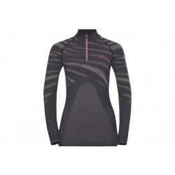 Odlo Performance Blackcomb 1/2 zip W vêtement running femme