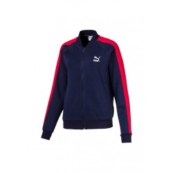 Puma Classics T7 Track Jacket, FT - Vestes course pour Femme - Bleu