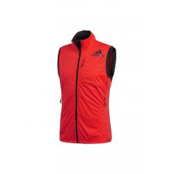 adidas Xperior Vest - Vestes course pour Homme - Rouge