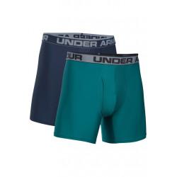Under Armour O Series 6´´ Boxerjock 2 Pack - Sous-vêtements sport pour Homme - Gris