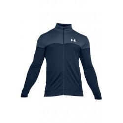 Under Armour Sportstyle Pique Jacket - Vestes course pour Homme - Vert