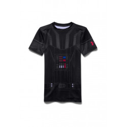 Under Armour Darth Vader HeatGear Short Sleeve - Article compression pour Enfant Unisexe -