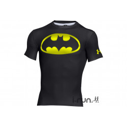 Under Armour Maillot Transform Yourself Batman Compression M vêtement running homme