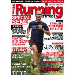 Avis de coureurs sur la magazine Running Attitude - exemple d'une couverture