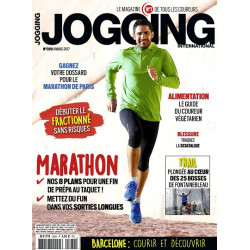 Avis de coureurs sur la magazine Jogging International - couverture ancienne