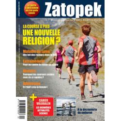 Avis de coureurs sur la magazine Zatopek - couverture du magazine