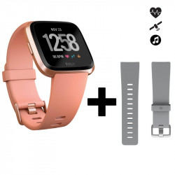 Fitbit Versa pêche + bracelet