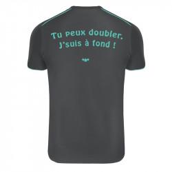 """T-Shirt running Runnek """"tu peux doubler"""""""